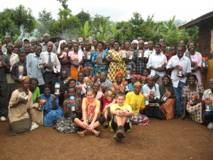 The first group of caregivers participating in our LITA Solar Project, made possible by the Wagner family of 5, who visited Uganda from Canada, and by their friends and family back home.