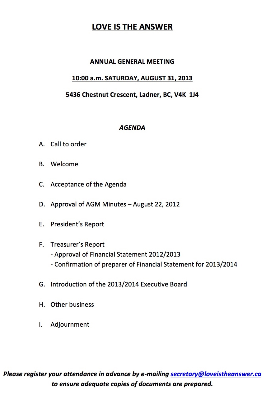 Litas agm 083113 announcement and agenda love is the agm notice 2013 1 lita agm agenda august 31 2013 4 pronofoot35fo Images