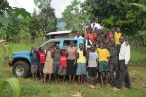 All the kids at ACIO came a-runnin the first time we pulled up at the Child Care Center.. they ringed the truck, hand in hand, and said a prayer of gratitude.
